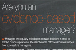 Are you an evidence-based manager?