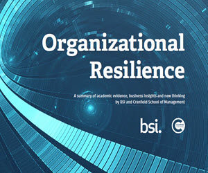 Organizational Resilience – a summary of the evidence